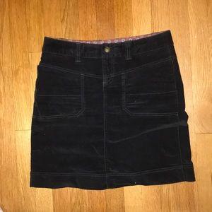Super cute Black Velvet Athleta skirt